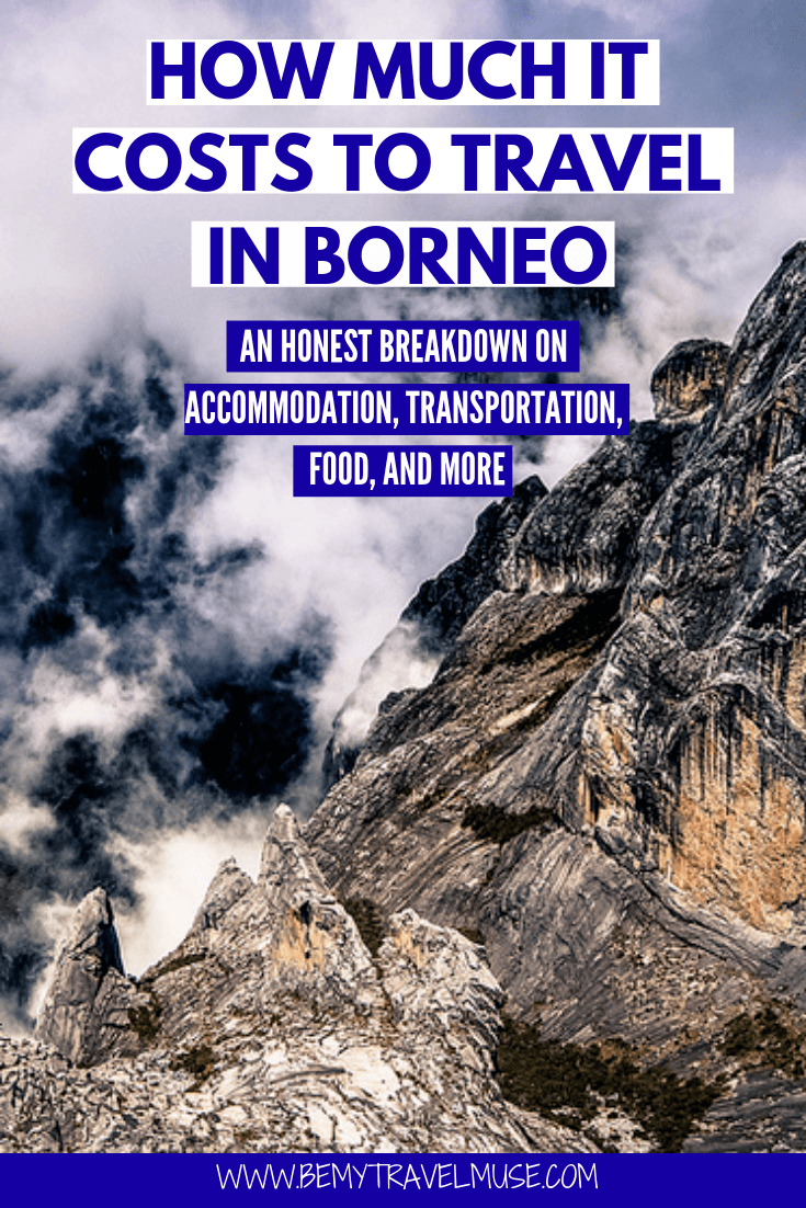 How much it really costs to travel in Borneo? Activities like climbing the Mount Kinabalu and diving in Sipada are costly, but there are ways to cut your expenses and see Borneo on a budget. This article breaks down the accommodation, transportation, food and other costs to help you plan an amazing trip to Borneo #Borneo #BorneoTravelTips