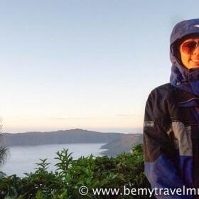 Kristin Addis at Mt. Bromo