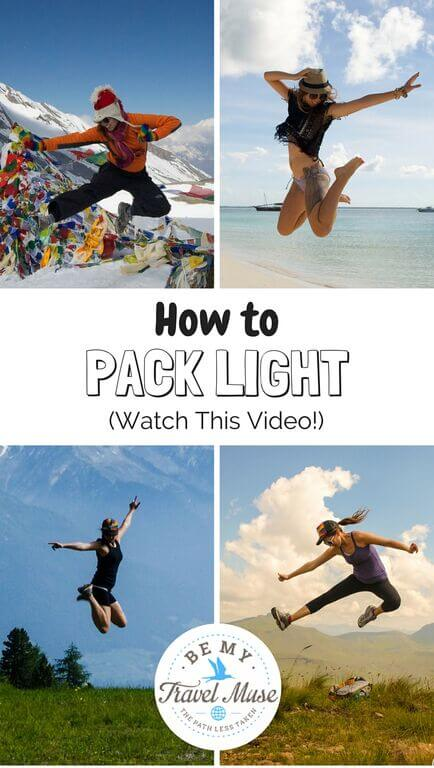 How to pack light for Southeast Asia, especially for backpackers. Here is a video detailing exactly how I traveled all last year with only carry on luggage. Read more at https://www.bemytravelmuse.com/how-to-pack-ligh…r-southeast-asia/ 