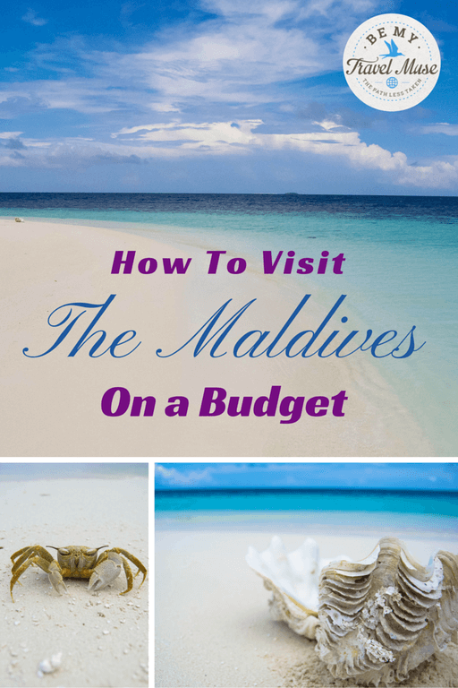 A step-by-step guide on flying to and staying in the Maldives for cheap by using local guest houses and finding fare deals online. It's easy! Read more at https://www.bemytravelmuse.com/maldives-on-a-budget/