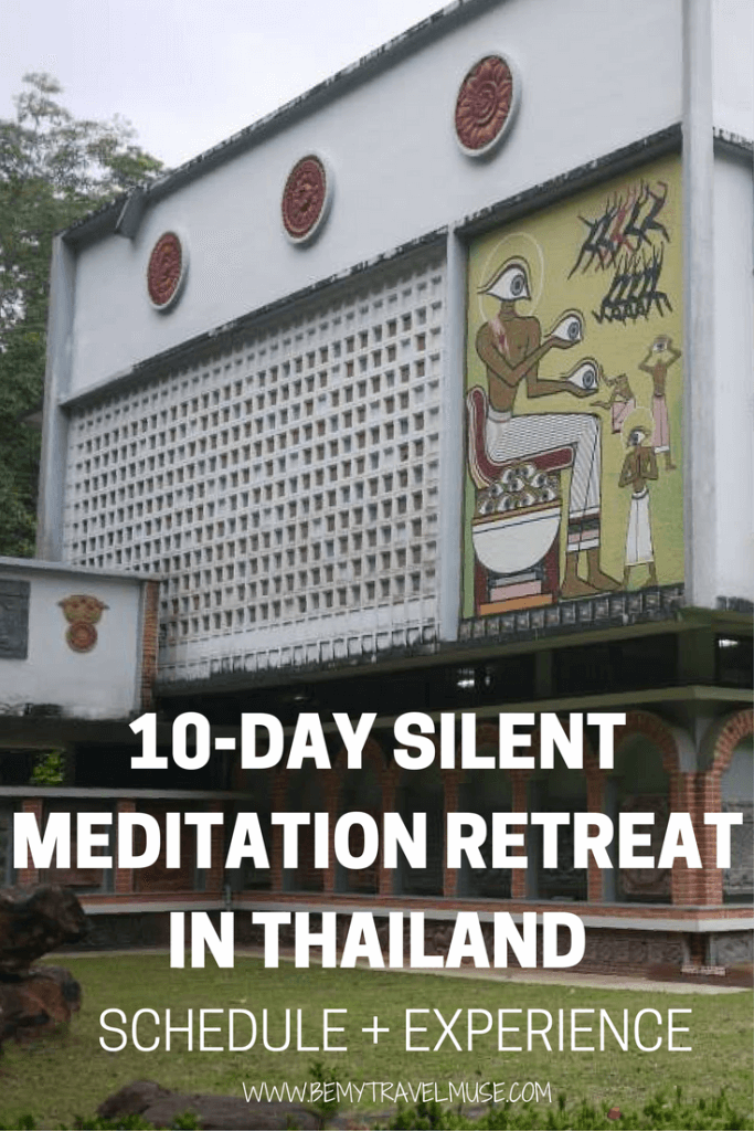 Here is the schedule and my overall experience participating in a 10-day silent meditation retreat in Surat Thani, Thailand | Be My Travel Muse #SilentMeditation #MeditationRetreat