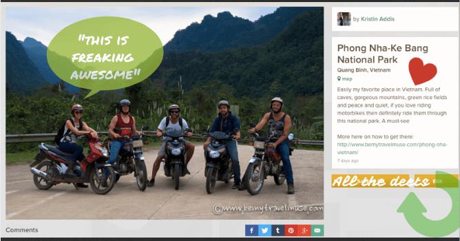 trover travel app