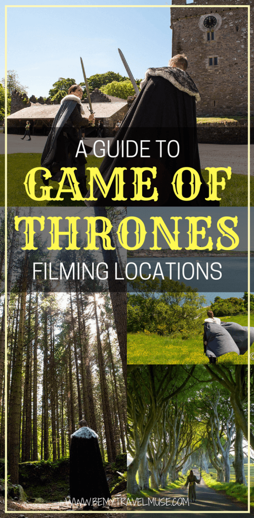Are you a Game of Thrones fan? Read how you can turn yourself into a GoT character in Northern Ireland! Game of Thrones filming locations | GoT Ireland | Game of Thrones travel guide | #GoT #GameofThrones