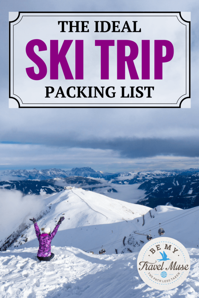What should you bring with you on your ski trip? Here's the perfect packing list to make sure you keep warm and have an awesome trip! Read more at https://www.bemytravelmuse.com/ski-trip-packing-list/