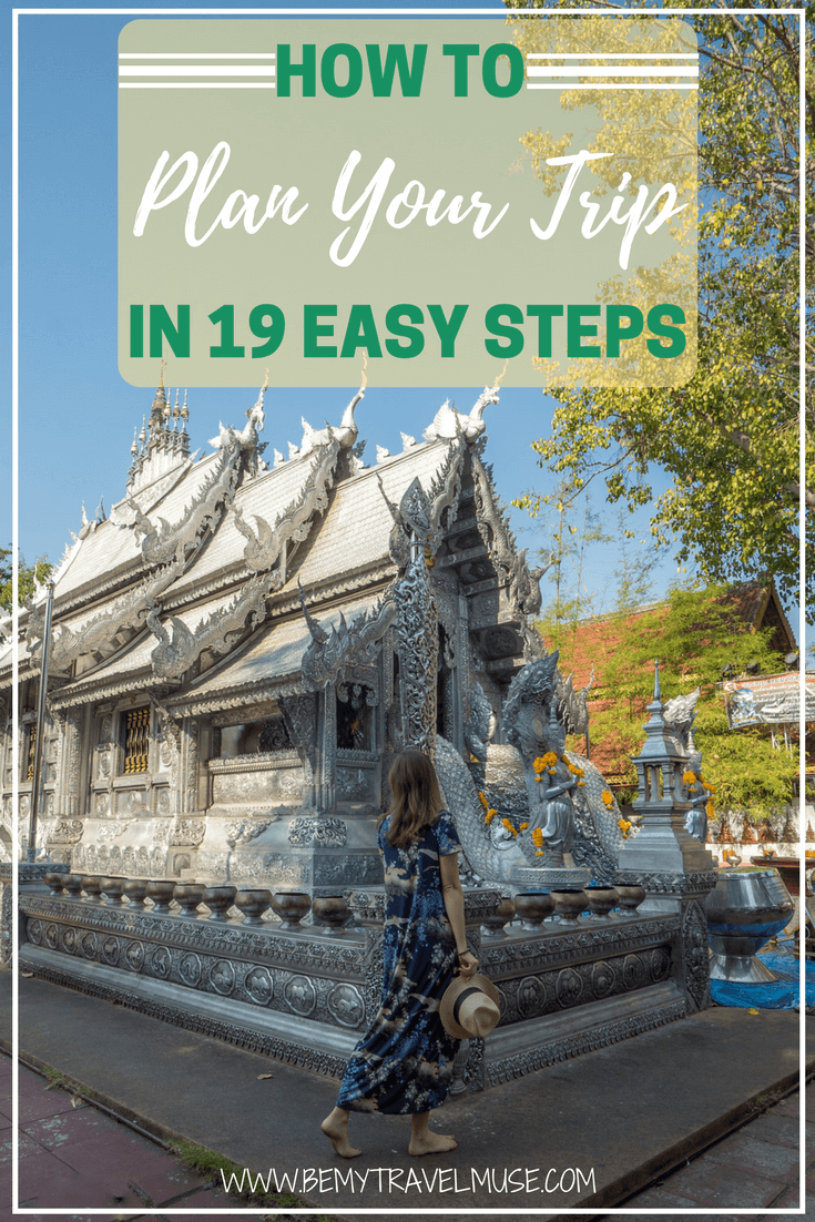 Planning a trip can be painful and time consuming, but it doesn't have to! Here's how I plan all my trips, in 19 easy steps | Be My Travel Muse | Trip planning tips | backpacking tips | How to plan a trip | Travel planning advice