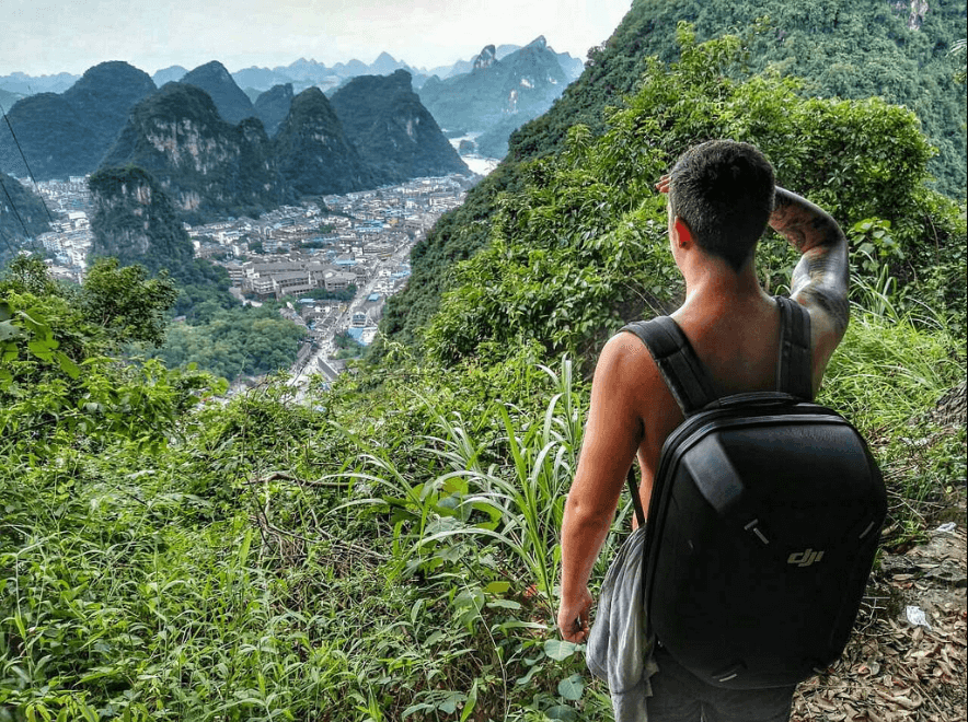 how to hike yangshuo