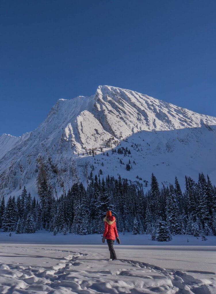 Photos of Alberta in the winter