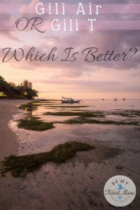 Which island in Indonesia is better, Gili Air or Gili Trawangan? After visiting both, here are my thoughts on which to pick for partying, chilling, or both!