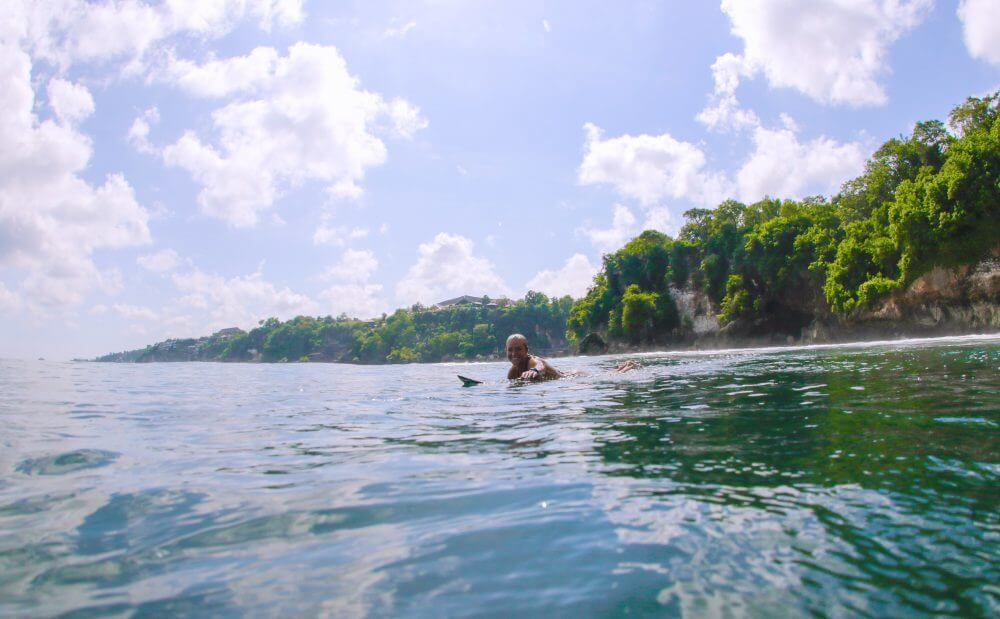 where to learn to surf in bali