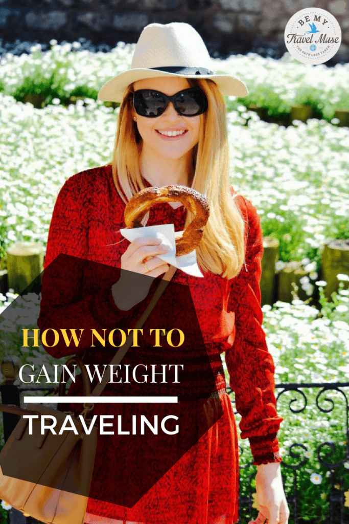 Do you love traveling but always seem to gain weight when you do? Here are some tips for indulging without bulging after!