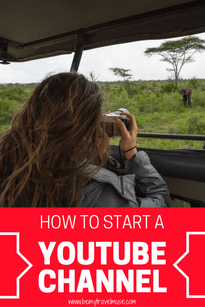 Here are my tips on how to start a YouTube channel as a travel blogger | YouTube Channel ideas | Social media tips | make money with YouTube channel | Starting a YouTube channel | Create YouTube channel | Be My Travel Muse #YouTube