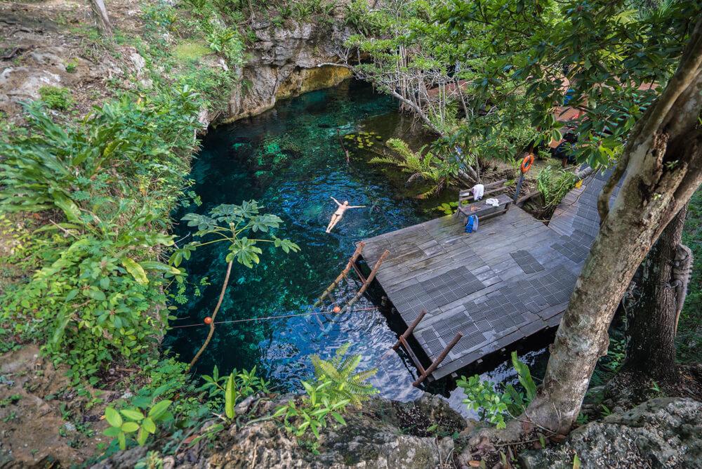 cenotes in Tulum mexico