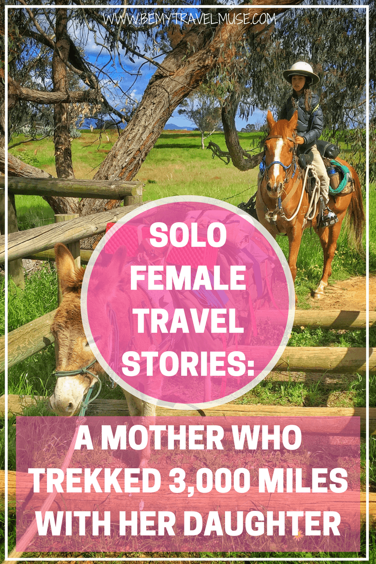 Read the story of an incredible single mother who trekked 3000 miles through Australia's Bicentennial National Trail | Be My Travel Muse | Single parent travel story | travel with children | solo female travel