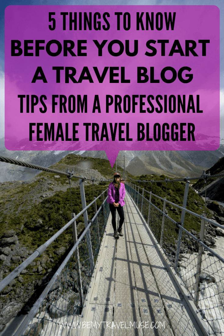 So You Want To Be A Travel Blogger? Getting Started