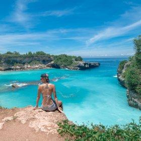 The Blue Lagoon on Nusa Ceningan