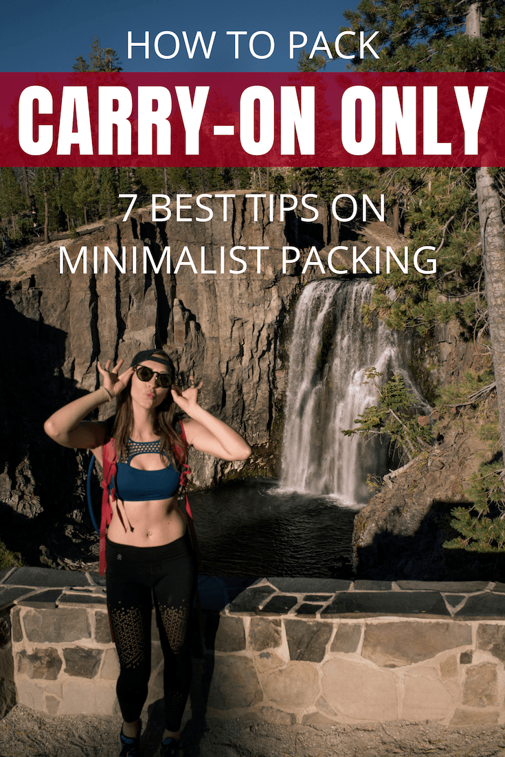 Want to go minimalist in your travels? Start from packing light and carry-on only! Here are my best tips on traveling with carry-on only, from my 6 years of travel experience around the world. #CarryOnOnly #TravelPackingTips