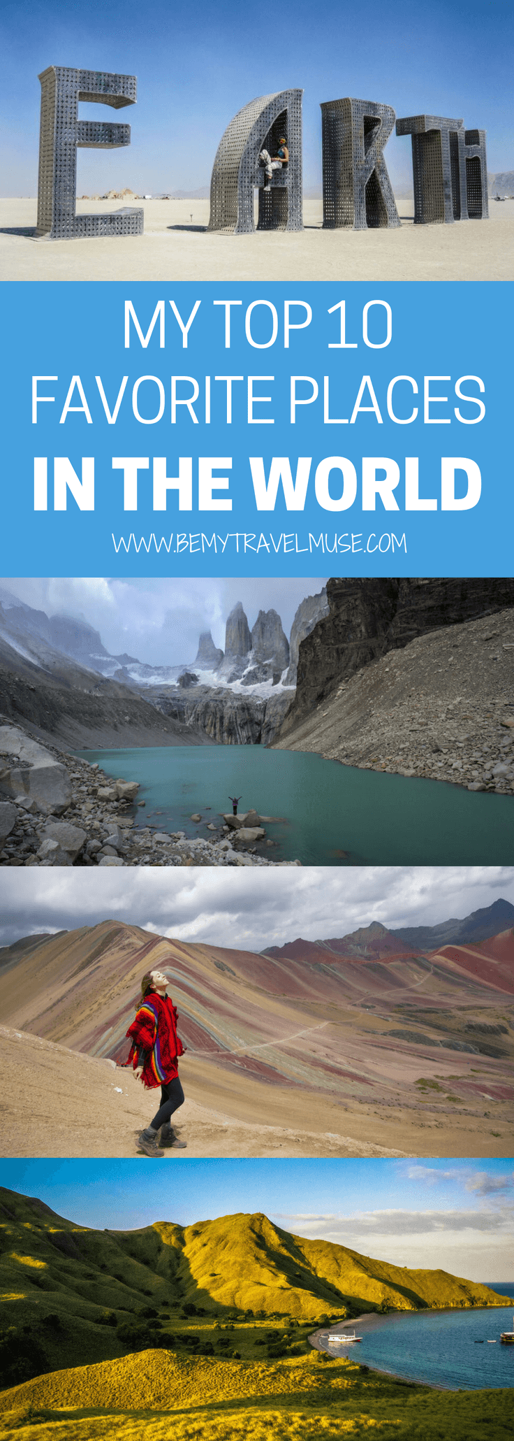 Looking for epic places to go for your next adventure? After traveling around the world for close to 6 years, here are my top favorite places in the world. Some were off the beaten path, some were amazing hikes that I will remember forever, and some, I almost want to keep it to myself! #bucketlisttravel