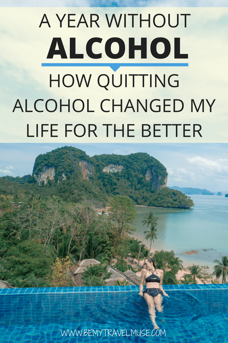 I have been sober for a year now. Sharing how quitting alcohol has changed my life for the better, whether it's career, relationships, and health. Goodbye, alcoholism. I hope this article encourages you to quit drinking if that's in your plans! #Alcoholism #QuitDrinking