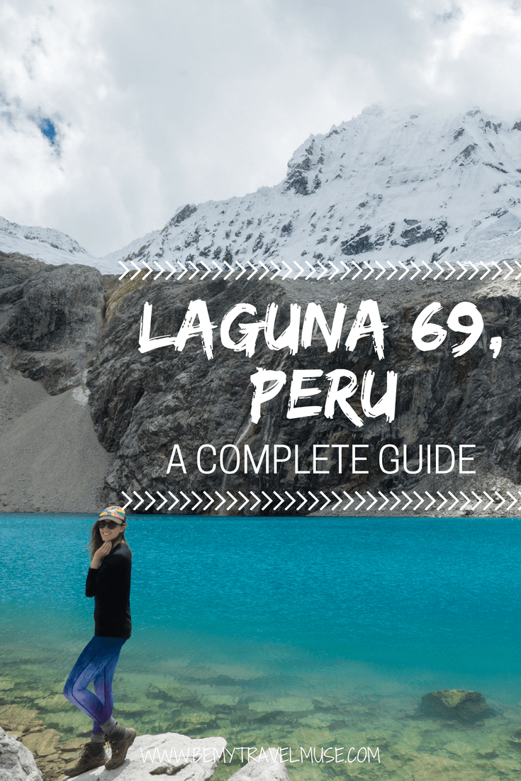 Planning for a day hike in Huaraz, Peru? Laguna 69 is an impressive hike that can be done in one day. Click to read my prep tips, things to know about the altitude factor, and what to bring. #Laguna69 #Peru #SouthAmerica