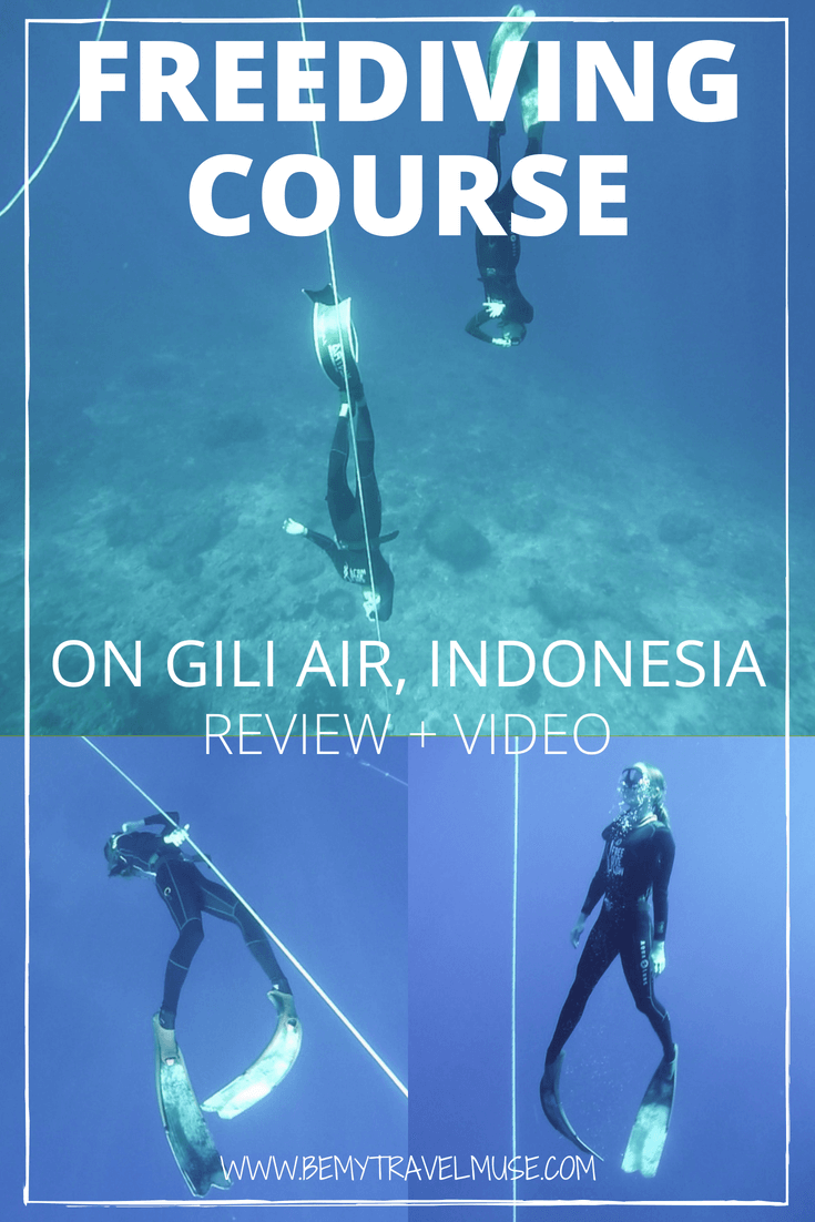 A review & video on my recent freediving course expereince with Freedive Flow on Gili Air, Indonesia. Details on the day-to-day course, review and video included. #Freedive #Freediving #FreedivingCourse