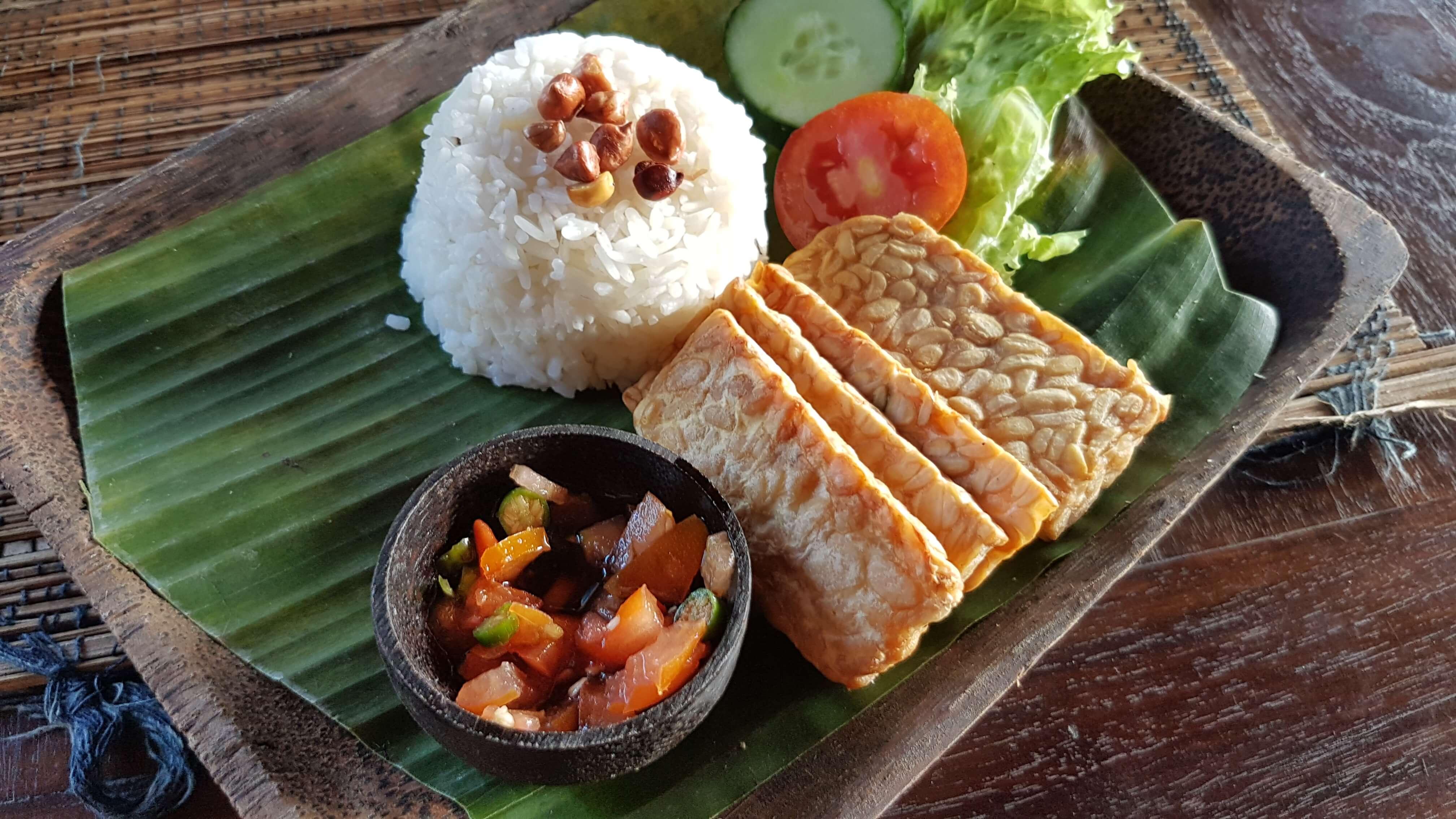 vegan indonesia