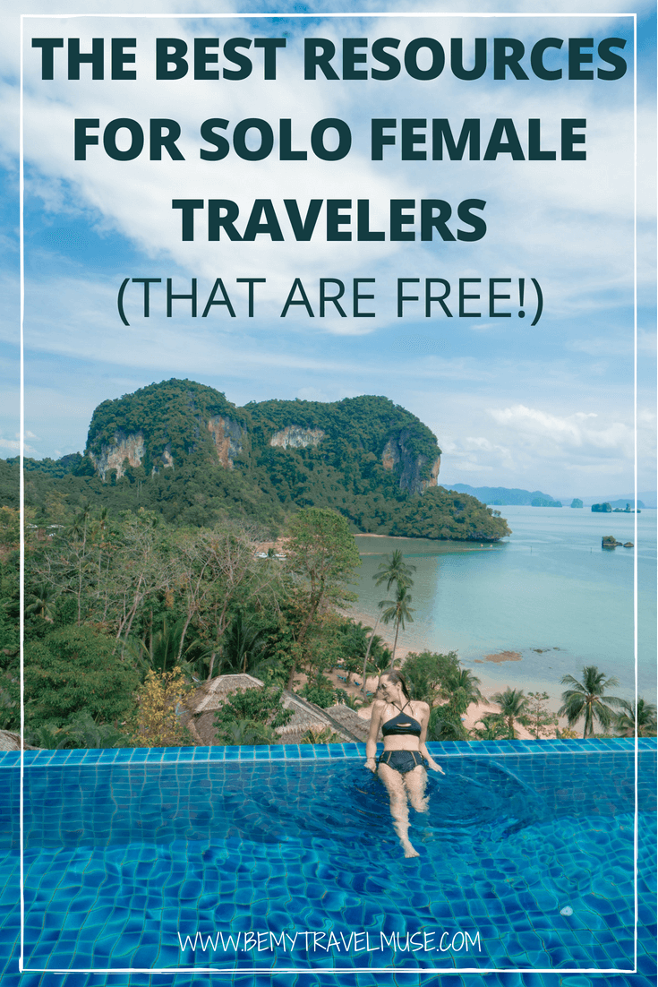 Looking for the best resources for solo female travelers that are free? I got you covered. The best travel playlists and podcasts, packing lists & workout routines, safety tips and a community to meet other solo female travelers, this post has everything you need for an awesome solo journey #SoloFemaleTravel #SoloFemaleTravelTips #SoloFemaleTravelers