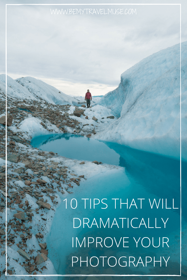 Looking to up your game with photography? Here are 10 tips that will dramatically improve your photography, to help you get stunning photos and become a better photographer #PhotographyTips #Photography