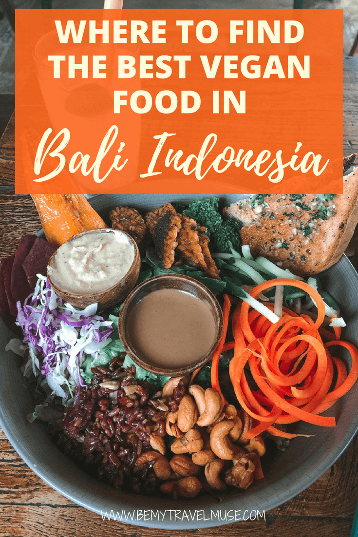 Traveling in Bali as a vegan is amazing! There are so many vegan restaurants and cafes, as well as restaurants cafes with wide vegan options in all of Bali, including Canggu, Seminyak and Ubud. Whether you are a full vegan or just interested in trying delicious plant based food, this guide will help you out! #VeganBali #Vegan
