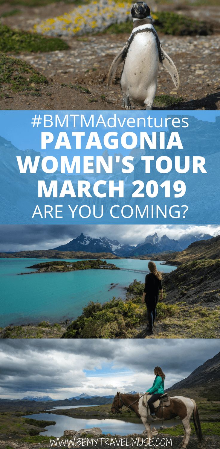 Join us in Patagonia for a special women's adventure and photography trip in March 2019!