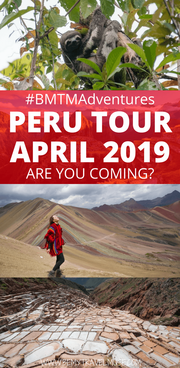 Check out our awesome Peru 2019 trip that takes us through the Amazon and to Machu Picchu along the Inca Trail!