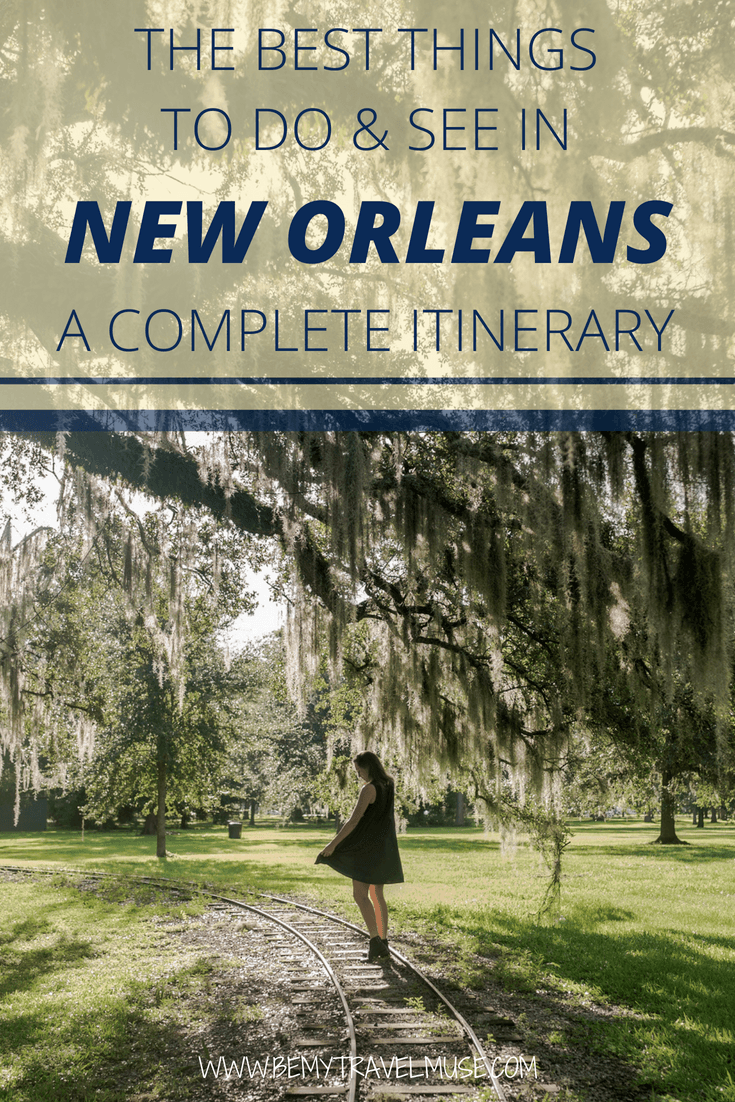 A complete New Orleans itinerary filled with the best things to see & do in 3 (or more) days, with both popular spots and places off the beaten path. #NewOrleans
