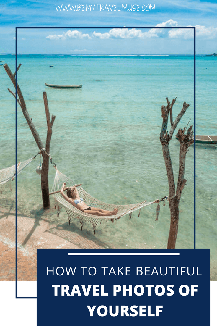6 easy trips that will help you improve your travel photos, and take your travel selfies game to a whole new level! Click to join an easy 5-day challenge that will help you pose much more naturally in front of a camera too! #TravelSelfie #SoloFemaleTravel
