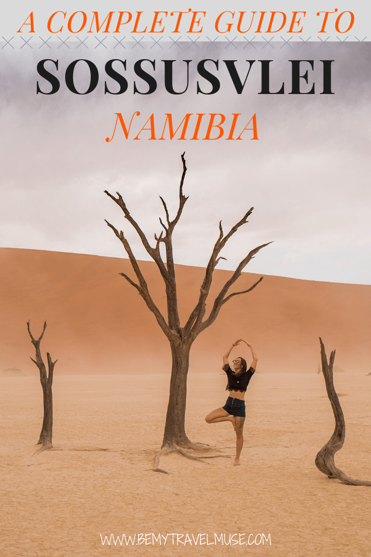 The essential guide to Namibia's Gorgeous Sossusvlei, with the best places to go, accommodation guide (find out how you can stay INSIDE the park!) and so much more. #Namibia #Sossusvlei