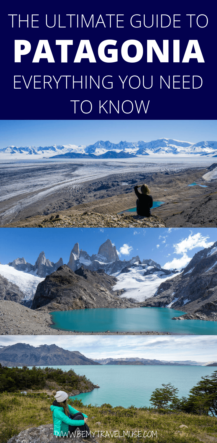 Here's the most important things you need to know about traveling in Patagonia, including the essential tips (safety, best time to go, transportation and so on), all of the best stops, an awesome packing list and different itineraries that will help you plan the perfect Patagonia trip! #Patagonia #PatagoniaTravelTips