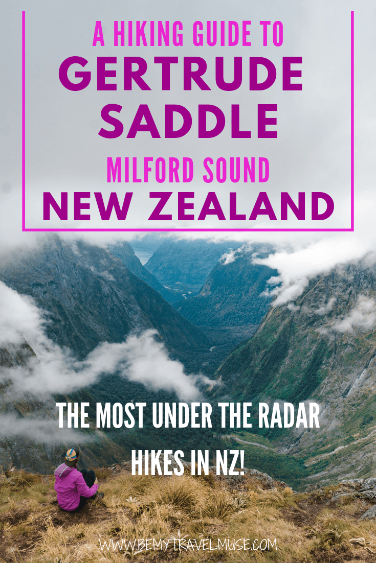 Where to hike in Milford Sound, New Zealand? Gertrude Saddle is one of the most under the radar hikes in the area, perfect for an adventure! Make this a stop on your South Island road trip - this guide has all of the information you need.