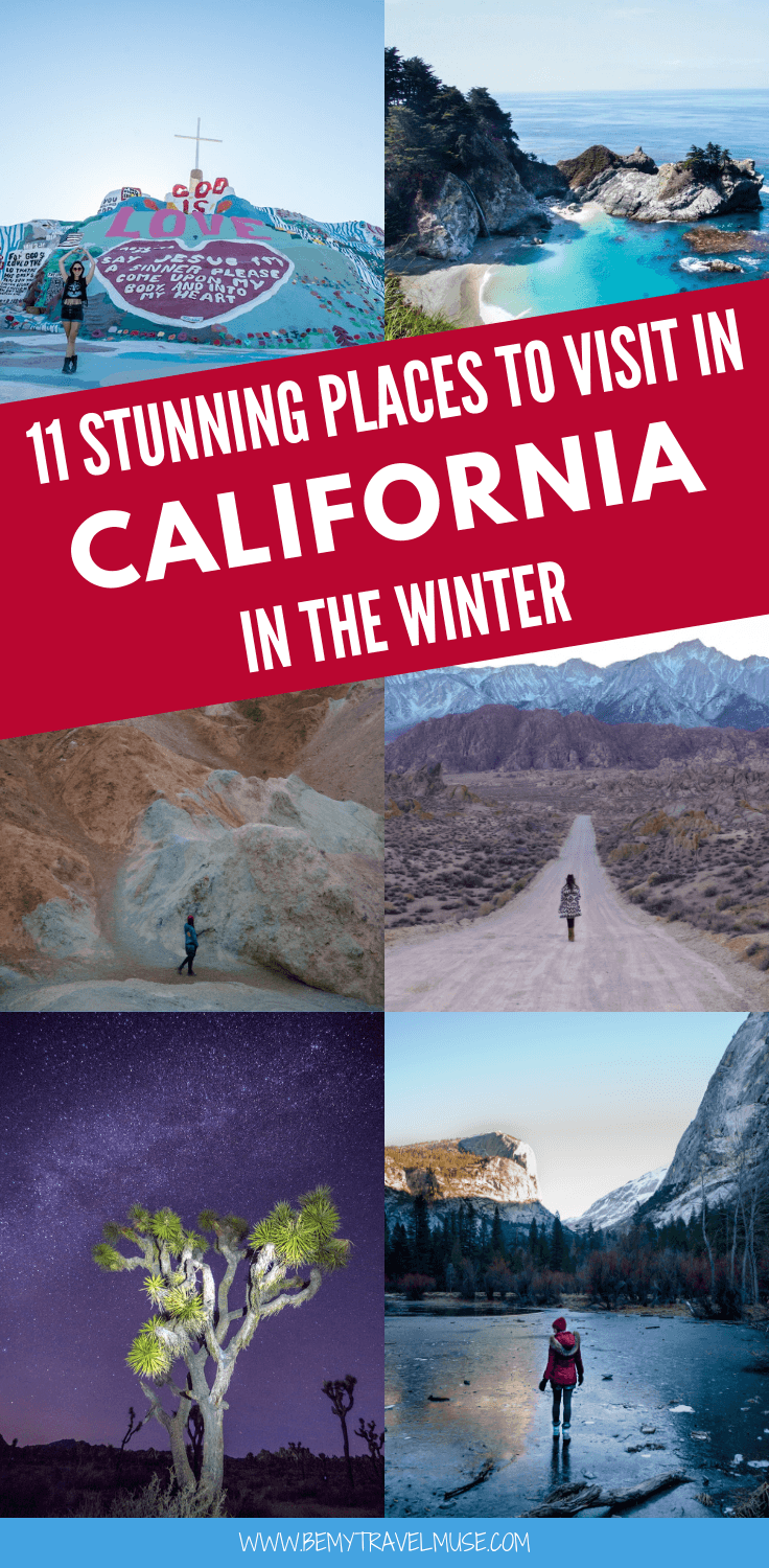 The Best Places To Visit In California In The Winter