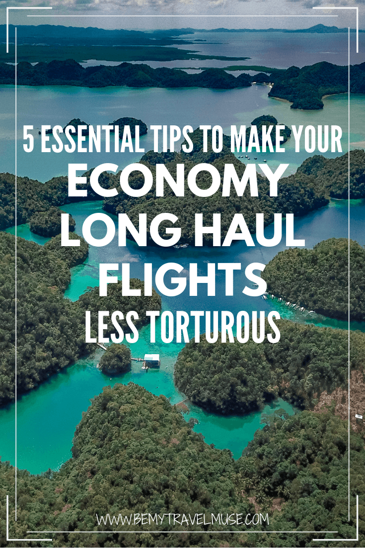 Click to read my best tips on surviving an economy long haul flights, so you can arrive in your destination refreshed and ready for an adventure!
