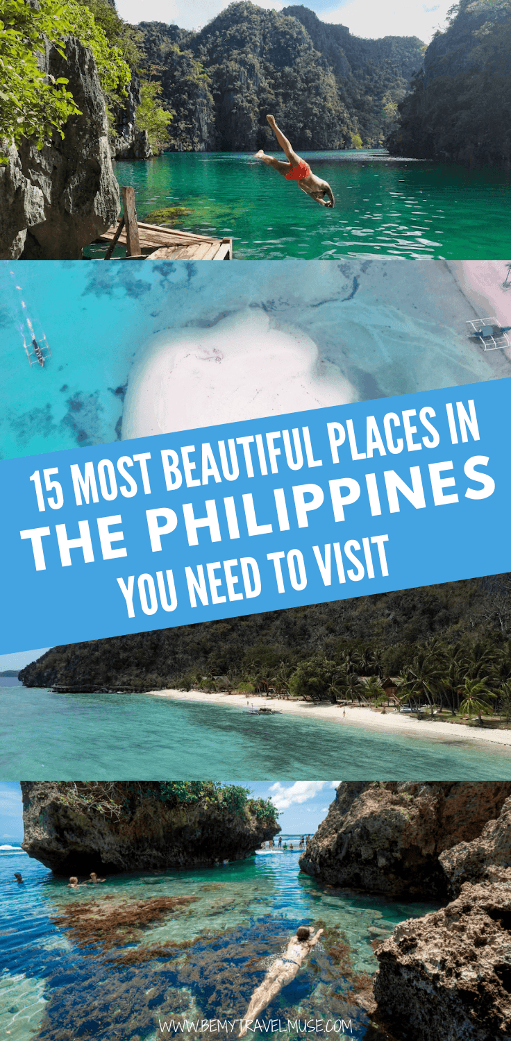 These are the most beautiful places in the Philippines you NEED to visit!
