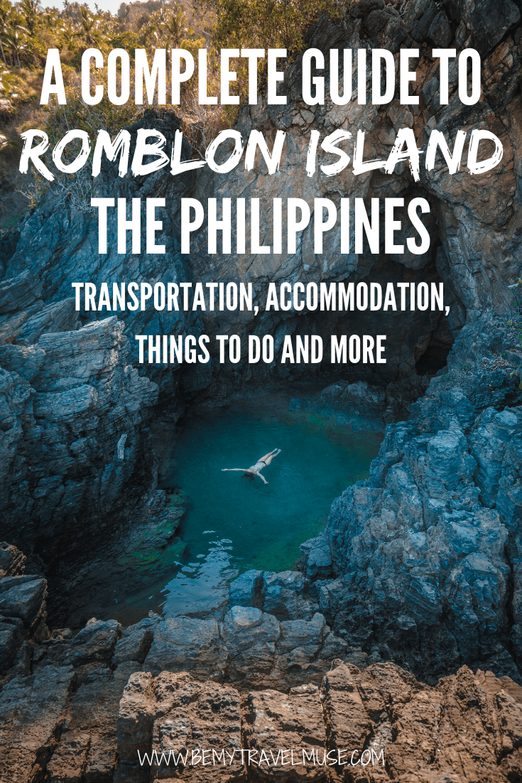 Visiting Romblon Island in The Philippines? Be sure to check this complete island hopping guide + itinerary before you go. Get tips on getting there, getting around, accommodation and best activities on the island. #RomblonIsland #ThePhilippines