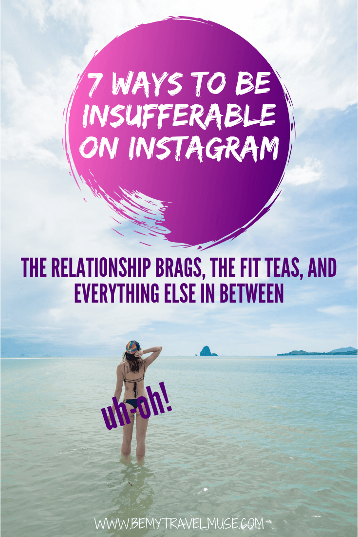 Is Instagram getting too fake? I realize there are 7 types of Instagram accounts that are just insufferable. Click to read and let me know if you agree!