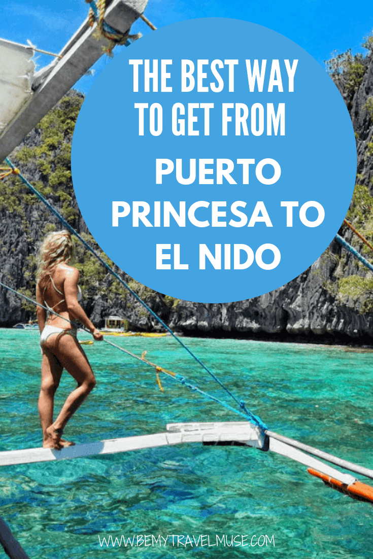 How should you get from Puerto Princesa to El Nido in the Philippines? Van? Boat? Flight? This post breaks down each option to help you plan your trip to the Philippines better.