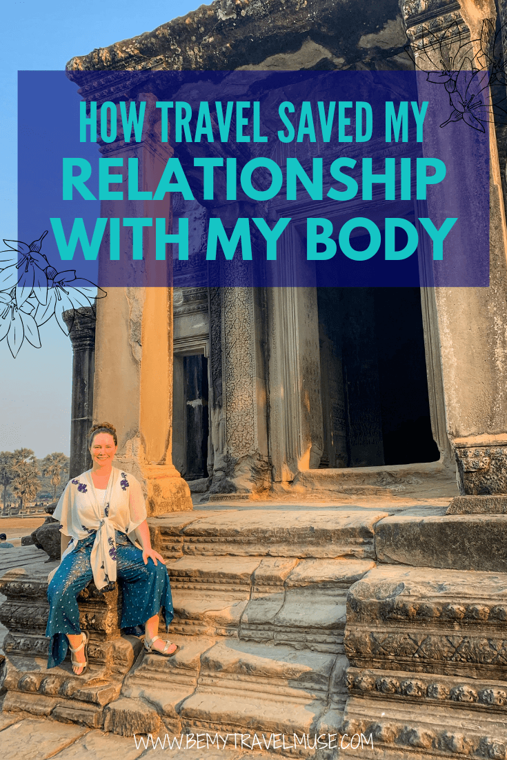 Click to read how travel injects positivity into my body and helps me love and appreciate my body again. If you are a solo female traveler struggling with your body image, I encourage you to read my story! #SoloFemaleTraveler #BodyPositivity