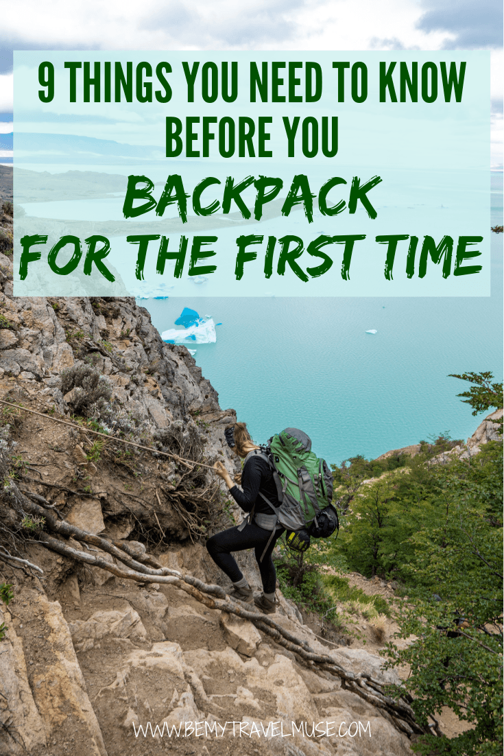 Backpacking for the first time? Do not go without knowing these 9 important things! #backpackingtips
