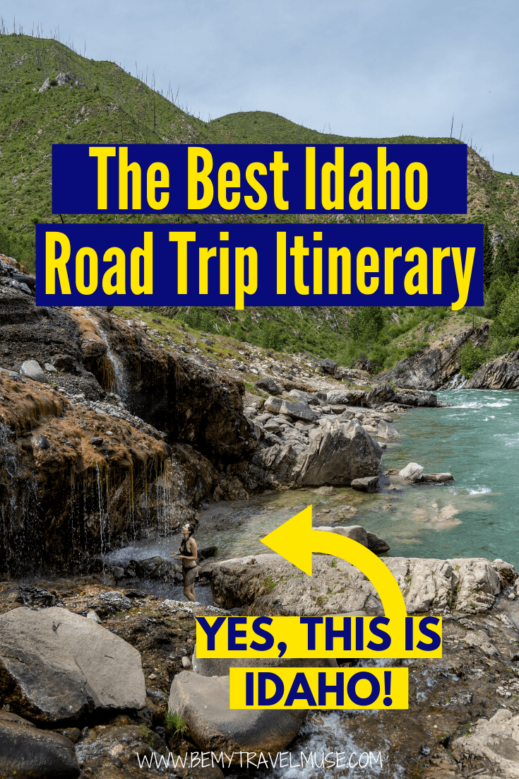 After visiting Idaho 4 times, I have come up with the BEST Idaho road trip itinerary, with 6 major stops that are full of surprises! Idaho turns out to be such a hidden gem, click to read the post and start planning an epic road trip now! #Idaho #USARoadTrips